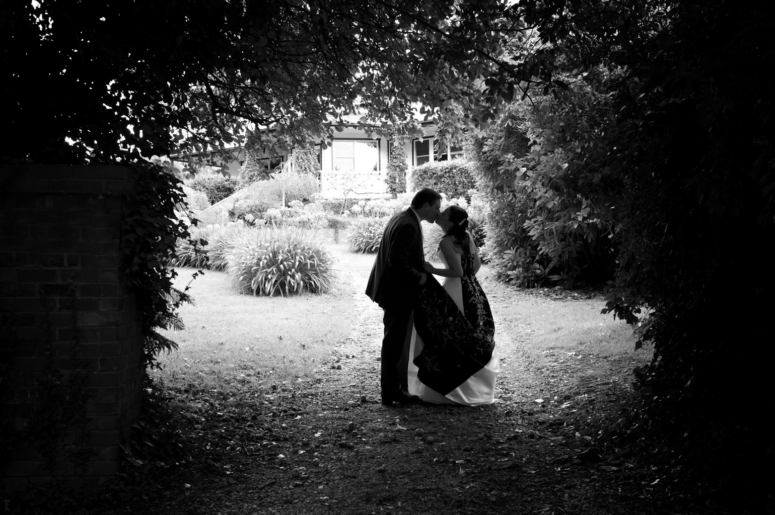 Wedding photography at Forest Edge Gembrook, showing Restaurant ...